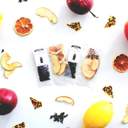 果實凍頂烏龍茶|百香蘋果/檸檬蘋果果茶